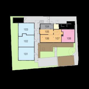 0325plan1階-部屋番号部屋名